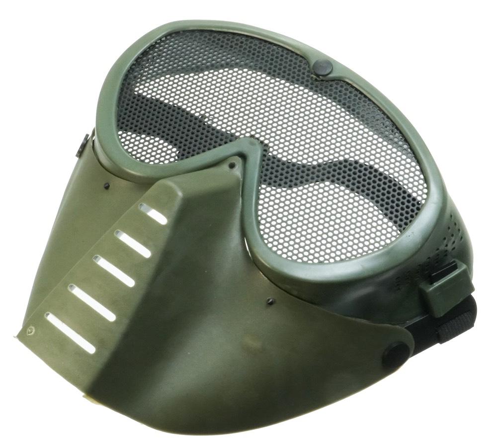MIL-FORCE ミルフォース フェイスマスク (オリーブ) FM-M01-OD