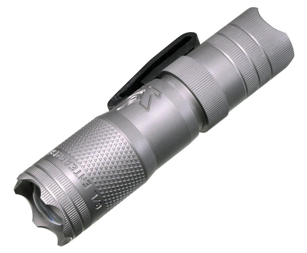 LENSLIGHT レンズライト ミニ チタニウム (ビーズブラスト/シングルアウトプット) LEDライト チタン