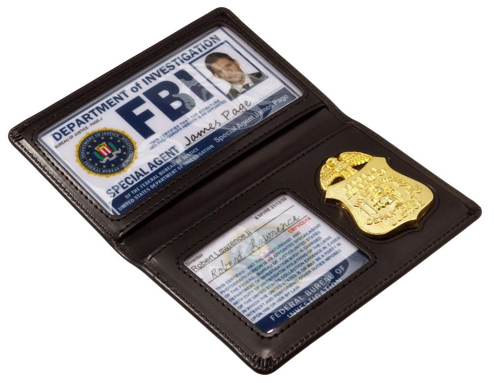 """FBIバッジ&カードホルダー """"ディーン モデル"""""""
