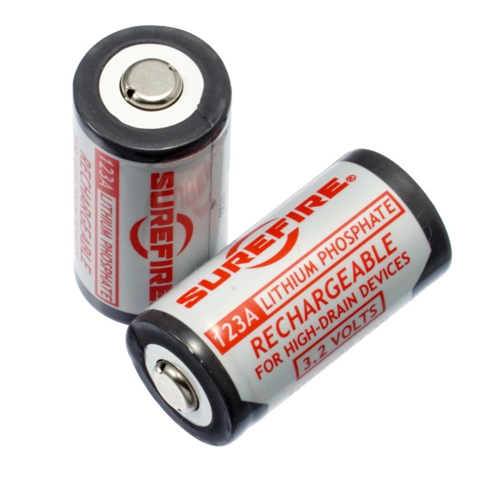 SUREFIRE シュアファイア リチウム充電式バッテリー SFLFP123