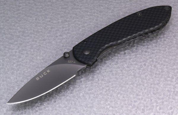 BUCK ノーブルマン カーボン 0327CFS-B NOBLEMAN CARBON フォールディングナイフ