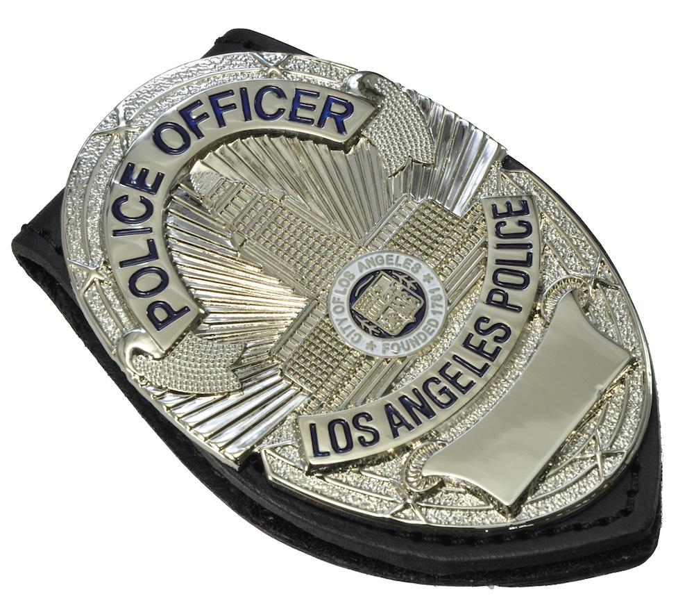 LAPDポリスオフィサー レプリカパッジ