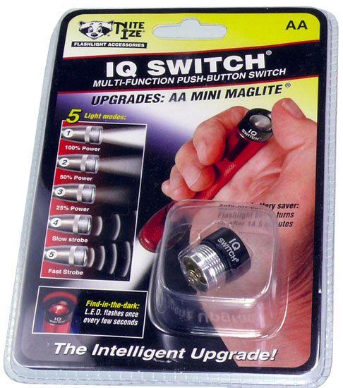 MINI MAGLITE IQスイッチ モード切替スイッチ