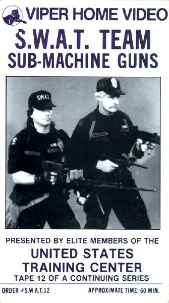 SWATチーム・サブ・マシンガン