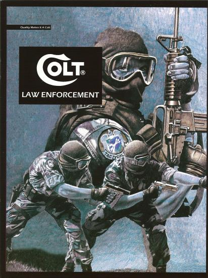 2008年 COLT Law Enforcementカタログ