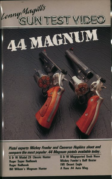 44マグナム・ガンテスト