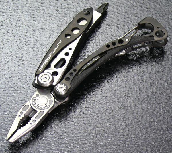 LEATHERMAN SKELETOOL CX レザーマン スケールツールCX プライヤー型 カラビナ付 マルチツール