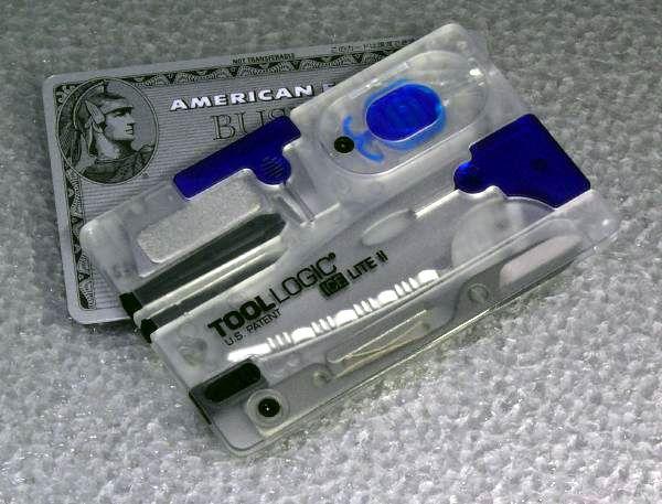 TOOL LOGIC ツールロジック アイス カード型マルチツール ミニツール