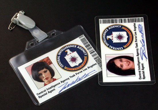 IDカード レプリカ CIA