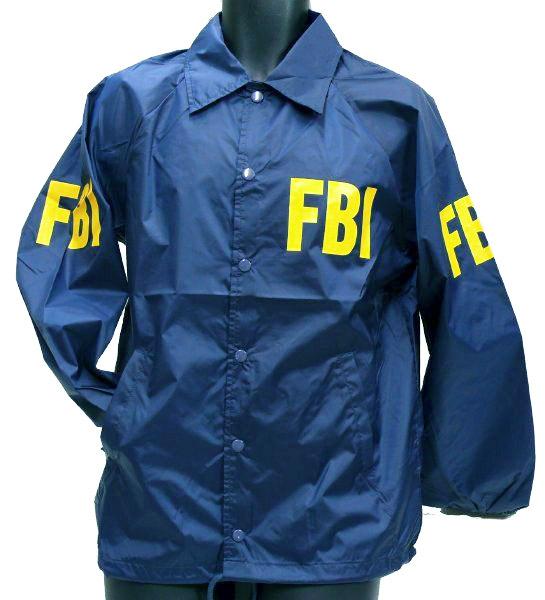 MIL-FORCE ミルフォース ウィンドブレーカー FBI 連邦捜査局 Mサイズ WB-FBI-M