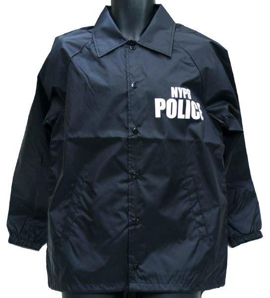 MIL-FORCE ミルフォース ウィンドブレーカー NYPD POLICE ニューヨーク市警察  Mサイズ WB-NYPD-M