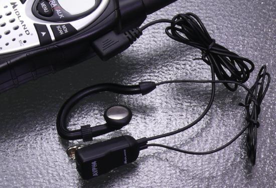 MIDLAND AVP-H4 ミッドランド イヤホンマイク 2組セット