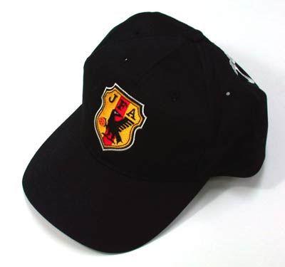 JFA JAPANキャップ(ブラック)JFA JAPANロゴ刺繍キャップ/帽子
