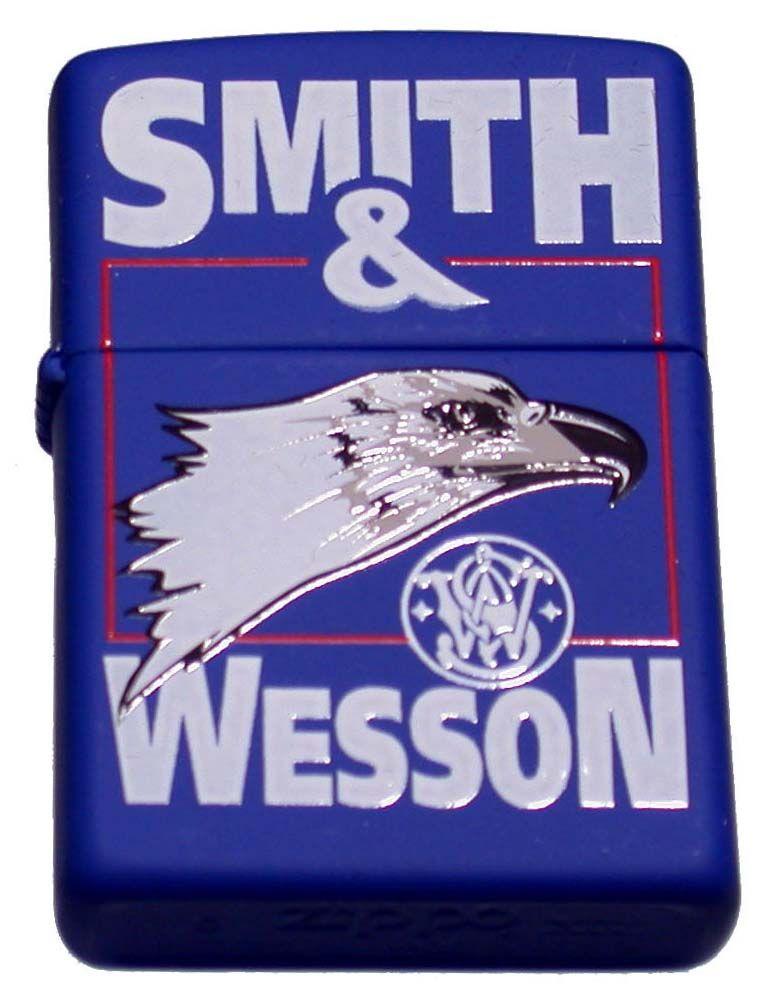 """ZIPPO ジッポー """"Smith & Wessonスミス&ウェッソン(イーグル)""""モデル ライター"""