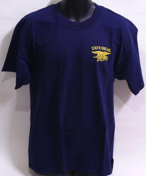 NAVY SEAL Tシャツ(ネイビー) Lサイズ
