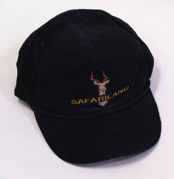 SAFARILAND ロゴ入 キャップ (ブラック)