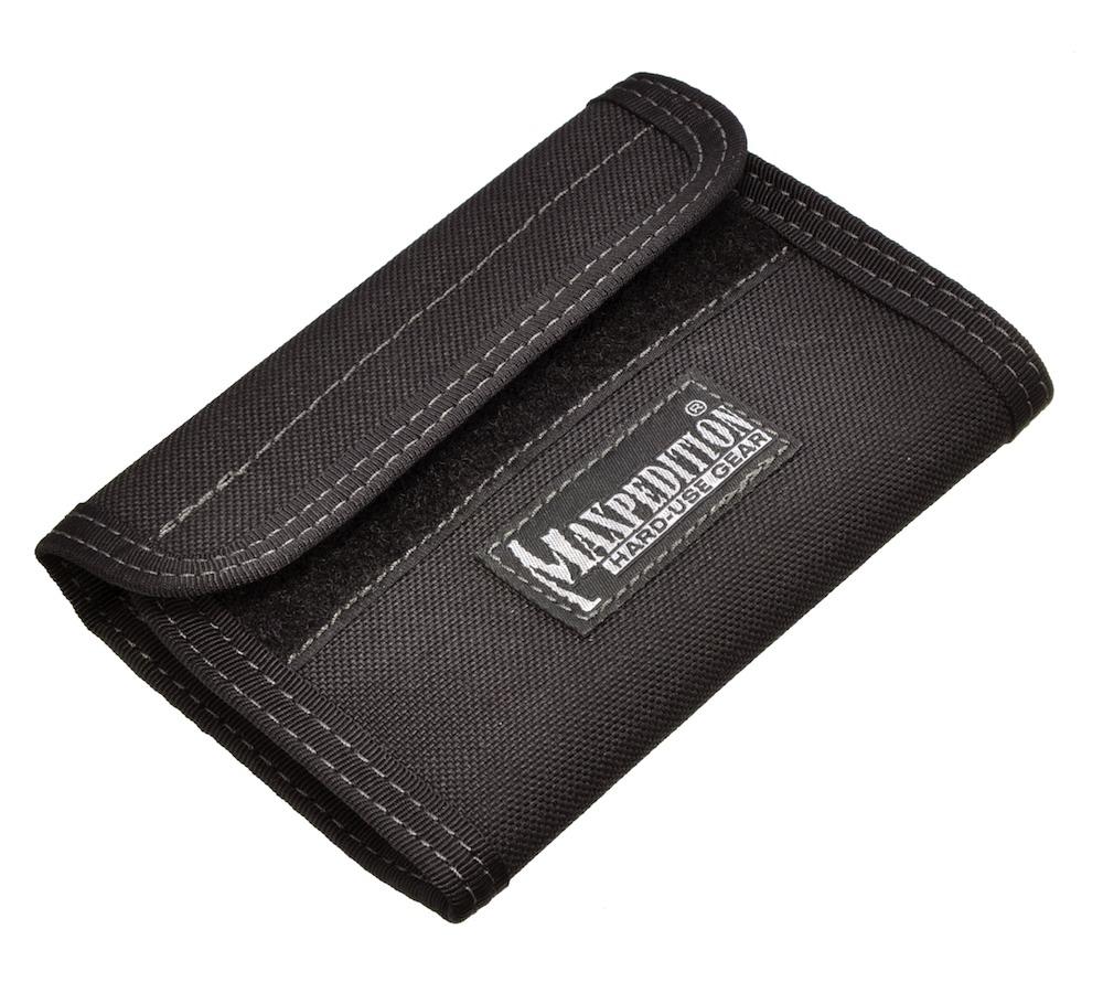 MAXPEDITION マクスペディション スパルタンウォレット ナイロン財布 黒 MP0229 black