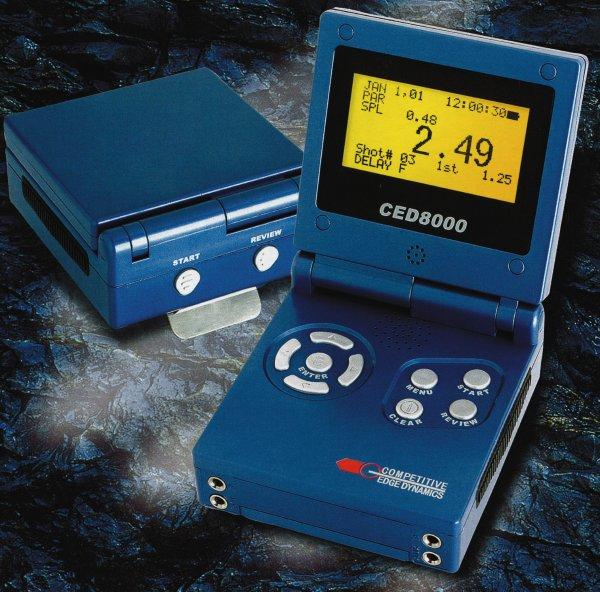 超多機能プログラム・シューティングタイマー CED8000J RF