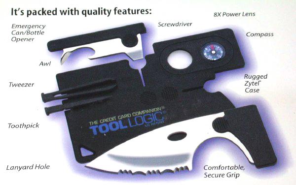 TOOL LOGIC ツールロジック カード型マルチツール ミニツール