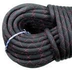 STERLING ROPE スターリング ラぺリング用ロープ 50m(ブラック)