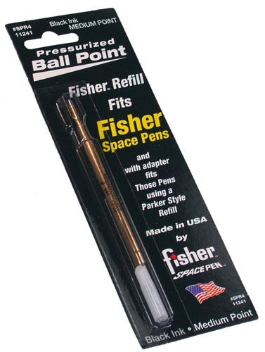 fisher Space Pen Refill フィッシャー スペースペン 交換レフィル/替え芯 黒