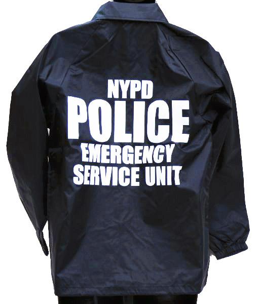 MIL-FORCE ミルフォース ウィンドブレーカー NYPD POLICE ニューヨーク市警察  XLサイズ WB-NYPD-XL