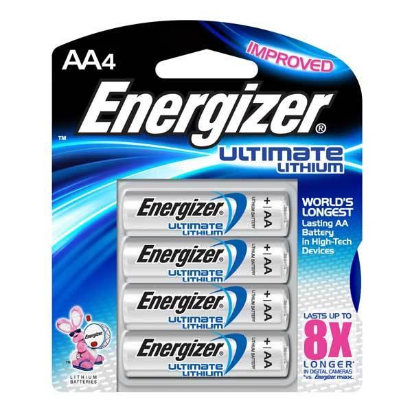 エナジャイザー リチウム電池 単三4本セット