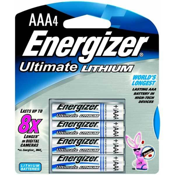 Energizer エナジャイザー リチウム電池 単四4本セット