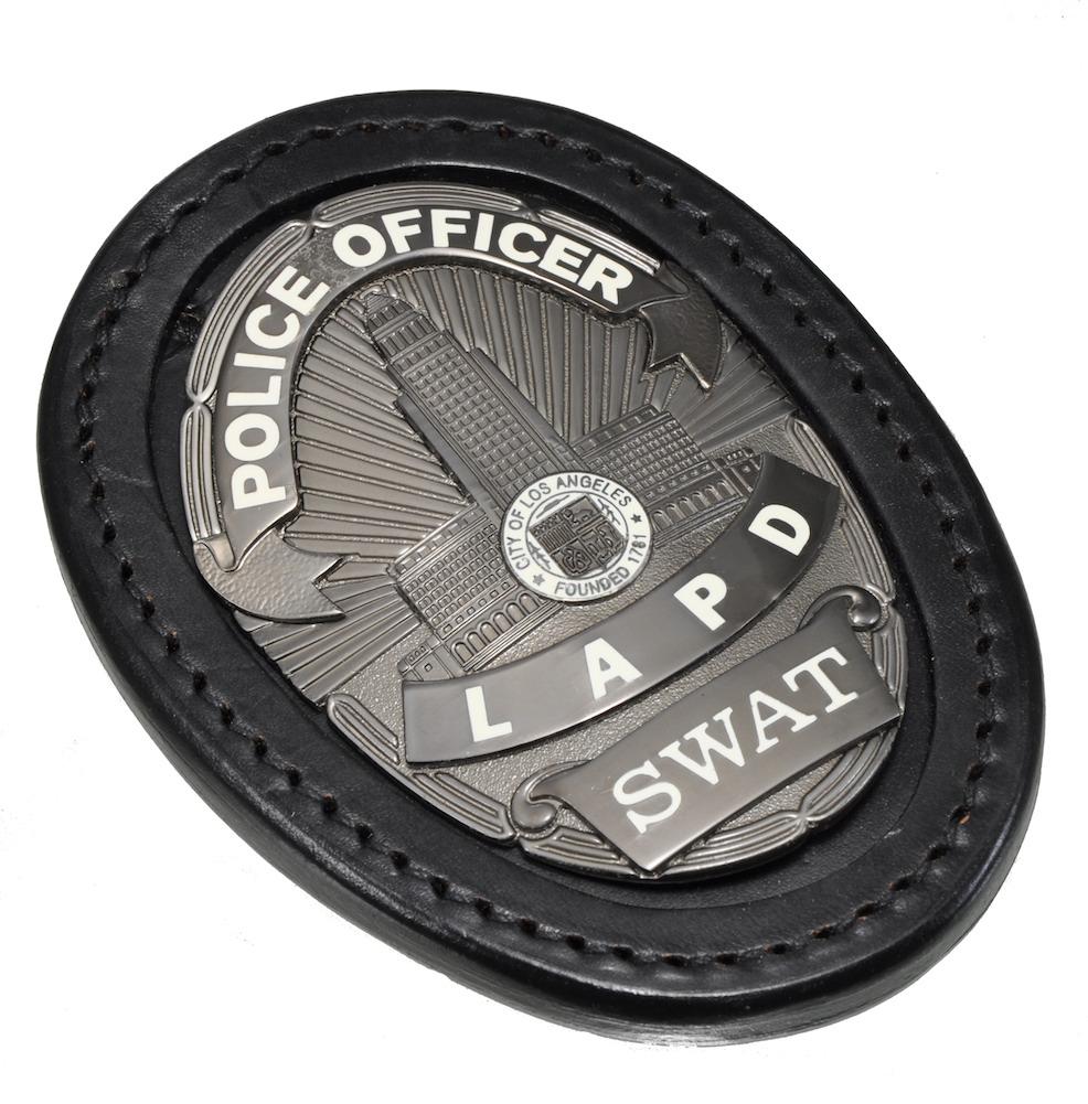 レプリカバッジ LAPD SWAT+ホルダー