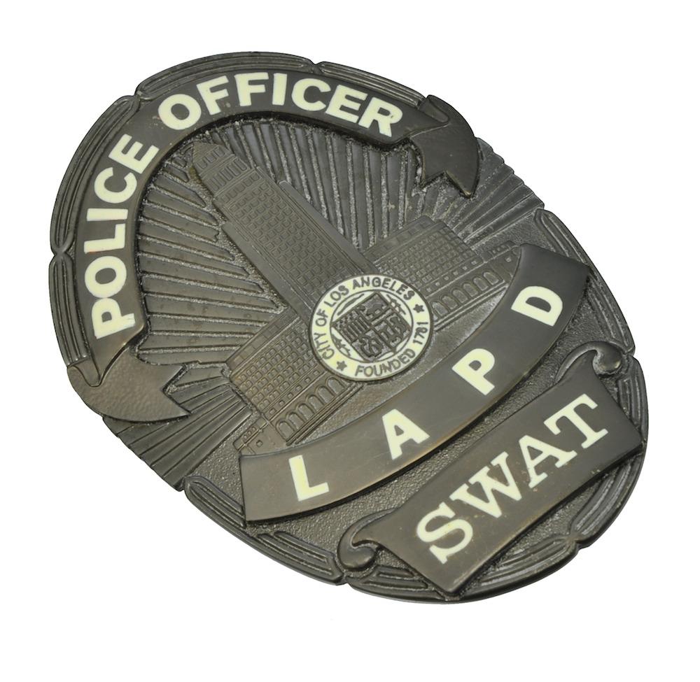 LAPD(ロサンゼルス市警察) SWAT POLICE BADGE ポリスバッジ レプリカ