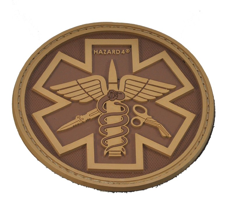 HAZARD4(ハザード4)Patch パッチ PARAMEDIC(救急医療隊員)TAN