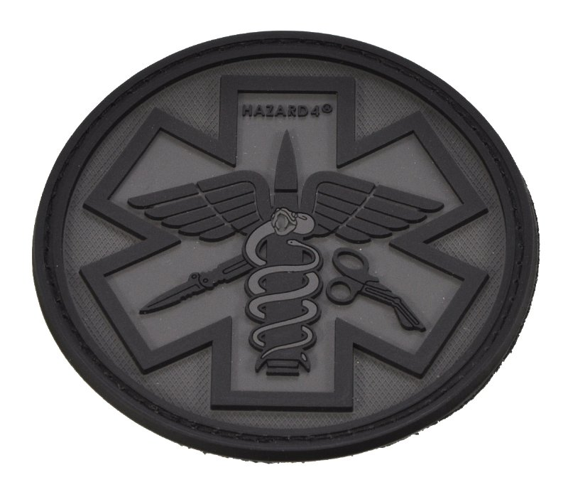 HAZARD4(ハザード4)Patch パッチ PARAMEDIC(救急医療隊員)黒