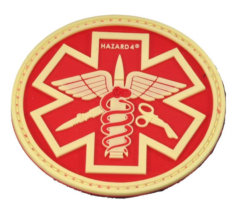 HAZARD4(ハザード4)Patch パッチ PARAMEDIC(救急医療隊員)蓄光