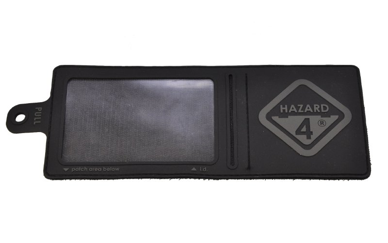 HAZARD4(ハザード4)Patch パッチ IDカードホルダー 黒