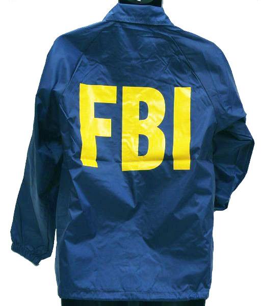 MIL-FORCE ミルフォース ウィンドブレーカー FBI 連邦捜査局  XLサイズ WB-FBI-XL