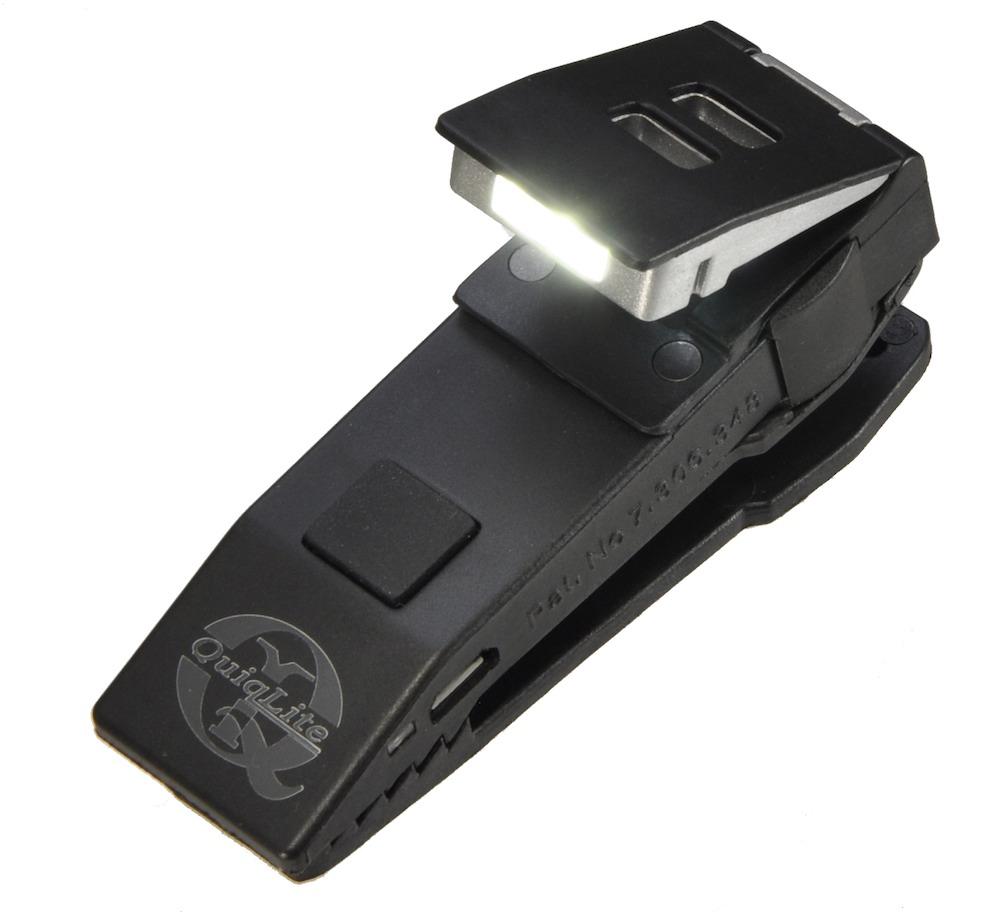 QuiqLiteX クイックライトX 充電式 LEDクリップライト