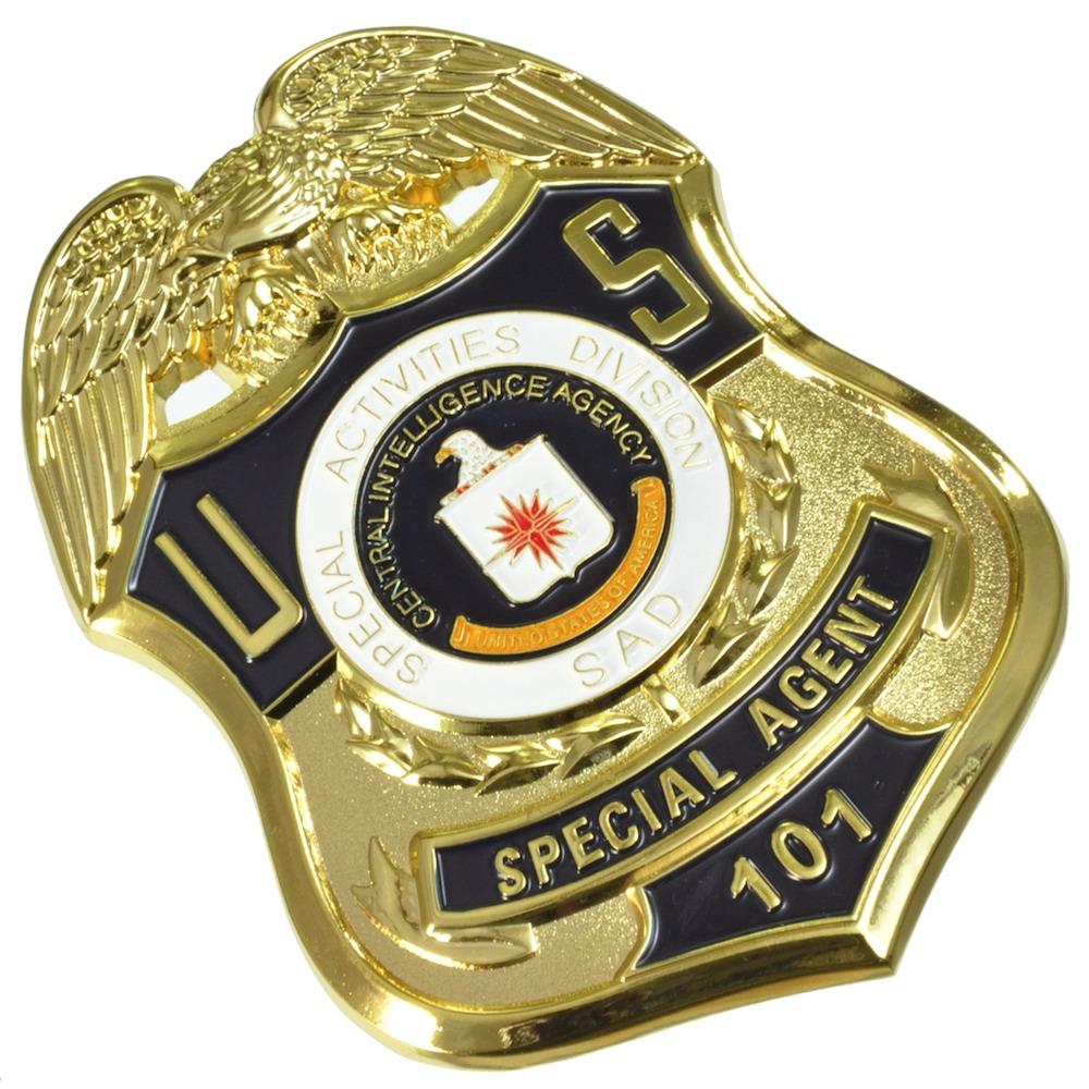 米国CIA特殊作戦部 スペシャルエージェント No.101 レプリカバッジ