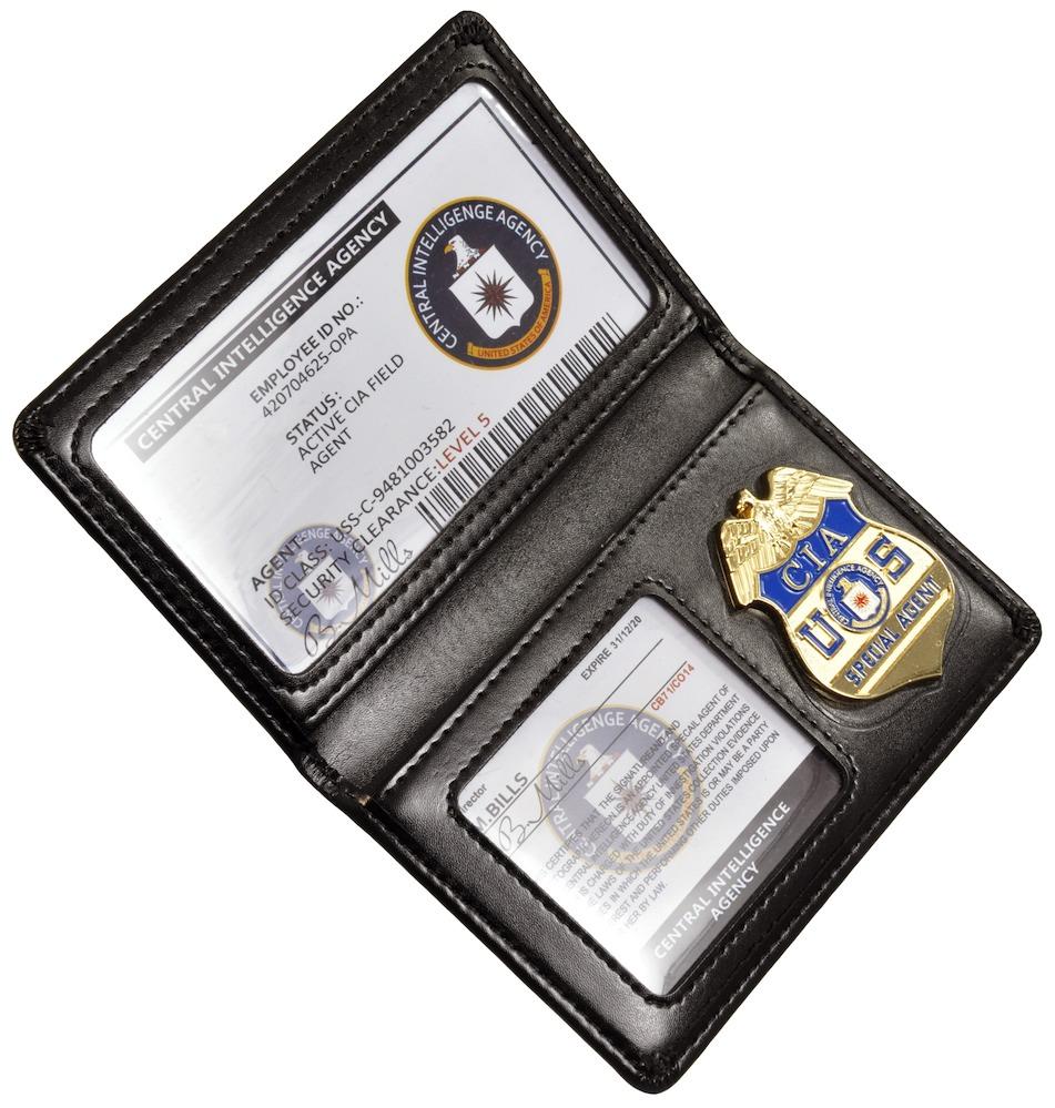 CIAバッジ&カードホルダー