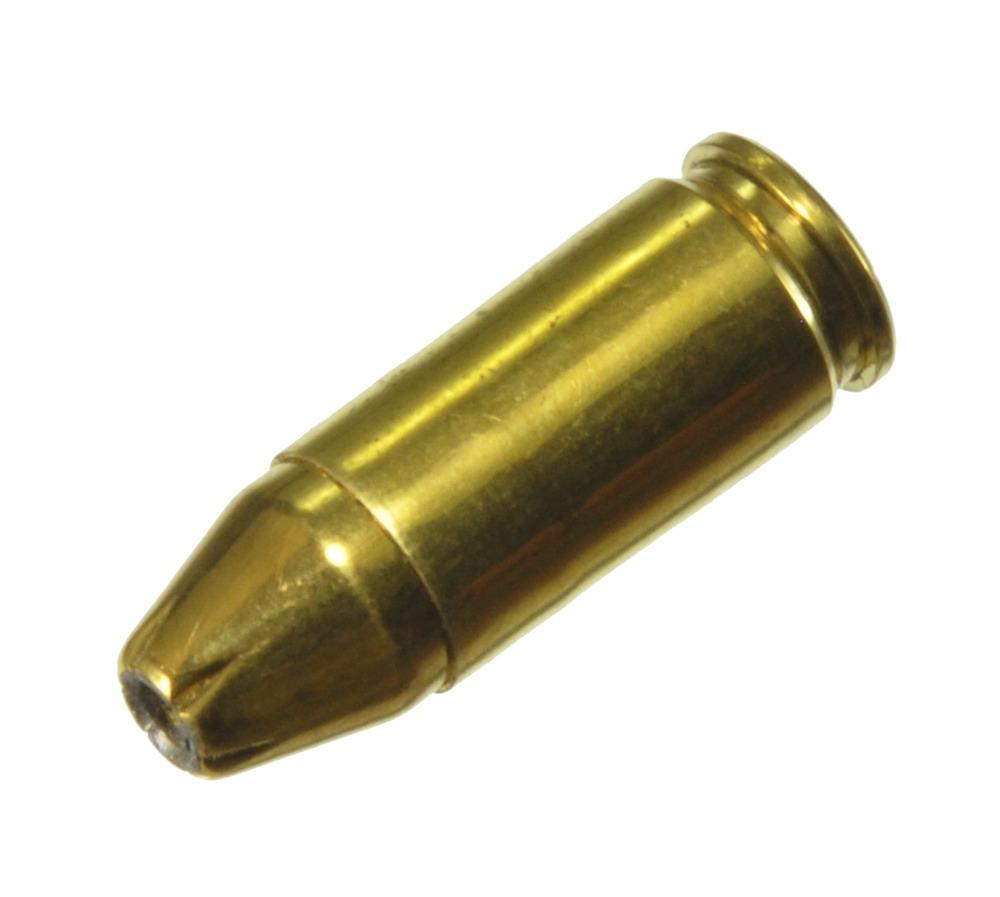 ダミーカート 拳銃弾  9mm HP Brass Jacket  プライマー付実弾レプリカ