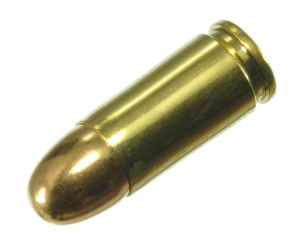 ダミーカート 拳銃弾  9mm Luger FMJ  実弾レプリカ