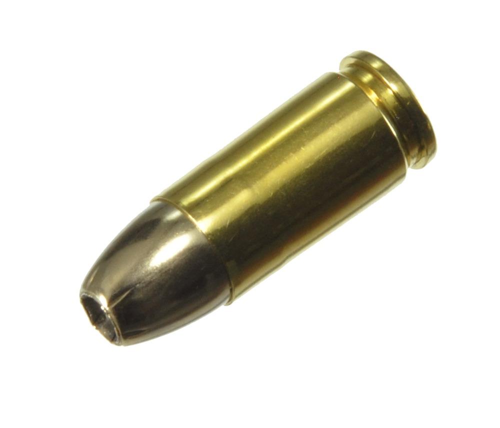 ダミーカート 拳銃弾  9mm Luger SilverTIP HP  プライマー付実弾レプリカ