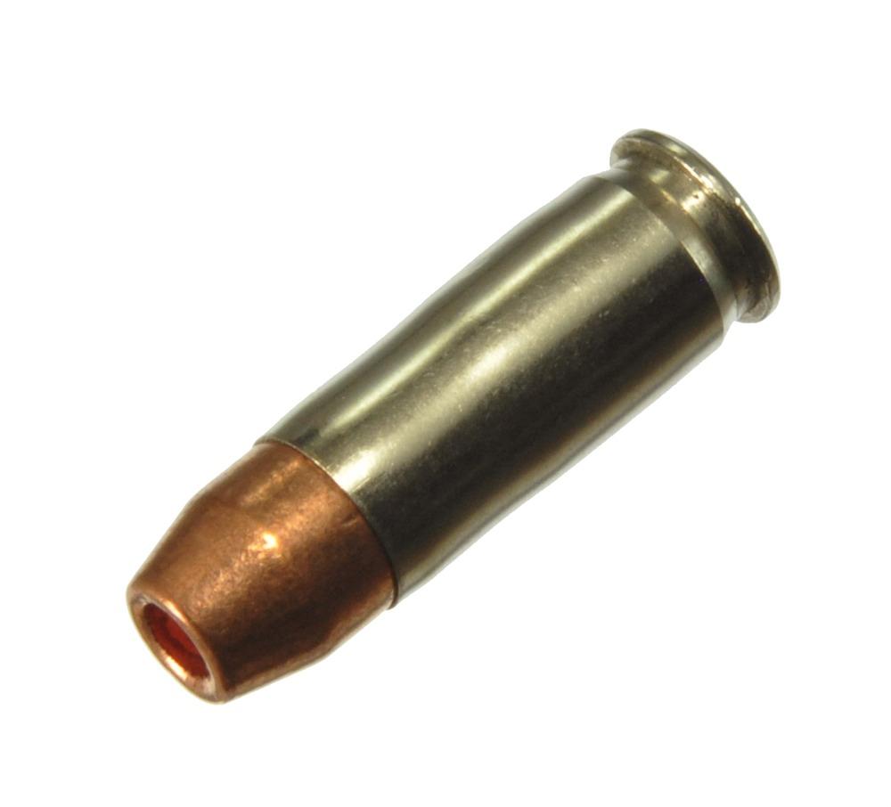 ダミーカート 拳銃弾  38 Super+P Jacketed HP  プライマー付実弾レプリカ