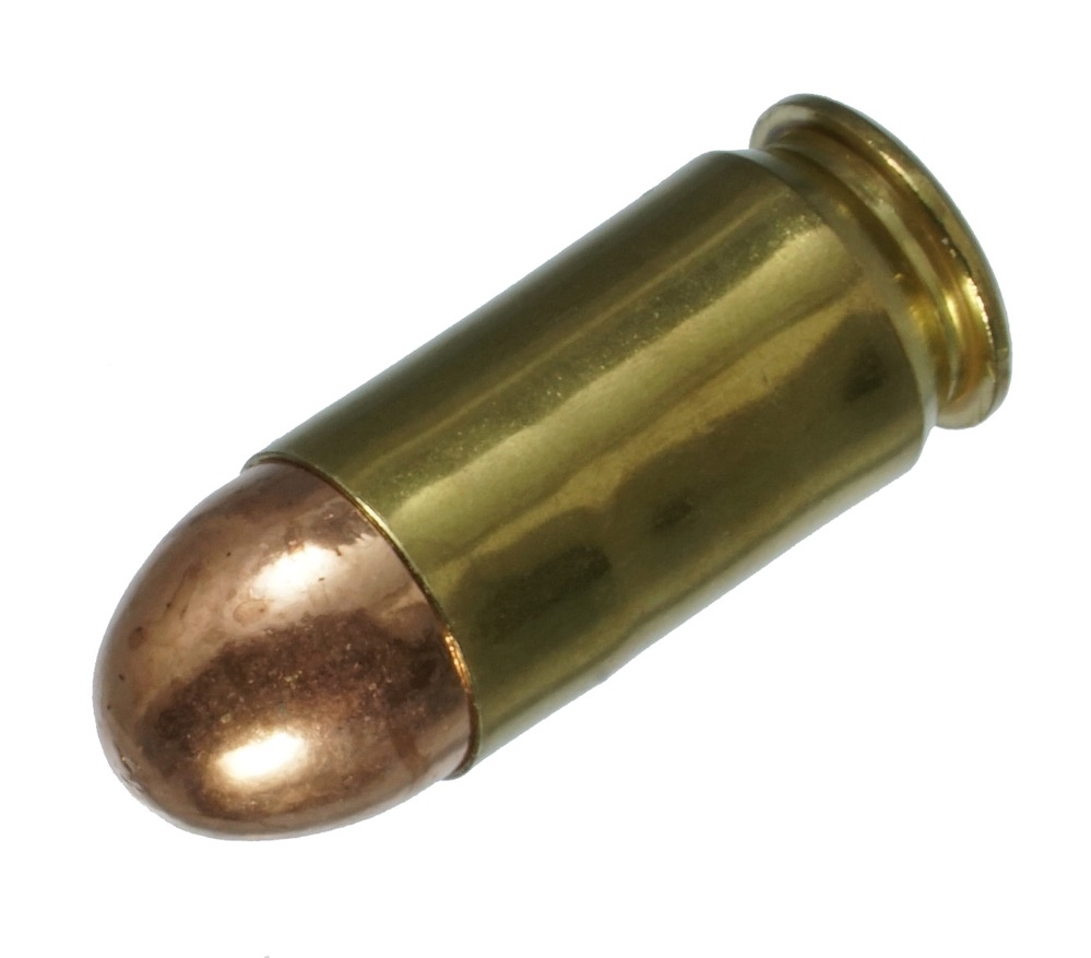 ダミーカート 拳銃弾  45 ACP HP Nickel  プライマー付実弾レプリカ