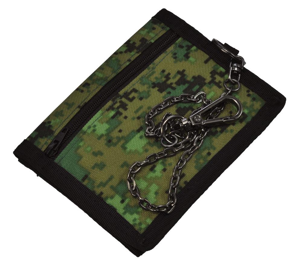 MIL-FORCE ミルフォース ナイロンウォレット/財布 デジカモ/オリーブ NW-107-ODD