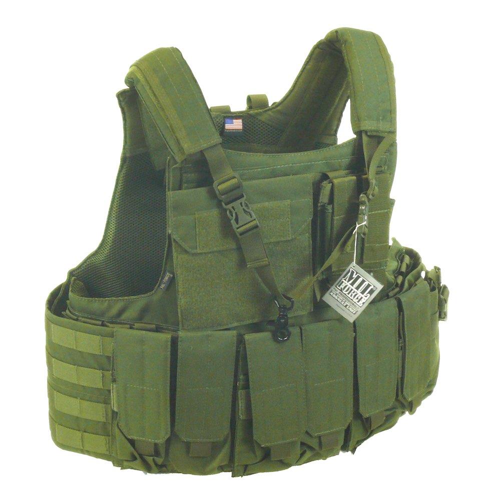 MIL-FORCE ミルフォース エリート タクティカル モールベスト (オリーブ) DM-USP-06-OD
