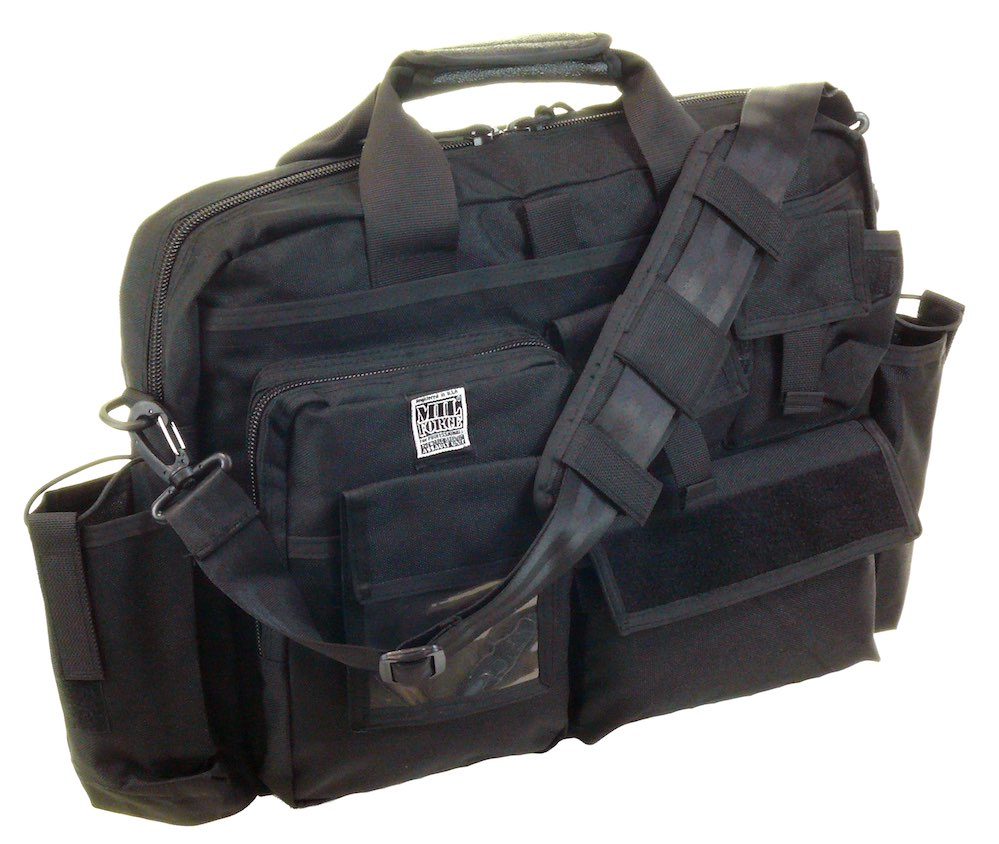 MIL-FORCE ミルフォース タクティカル オペレーション バッグ(ブラック) DM-OB-02-BK