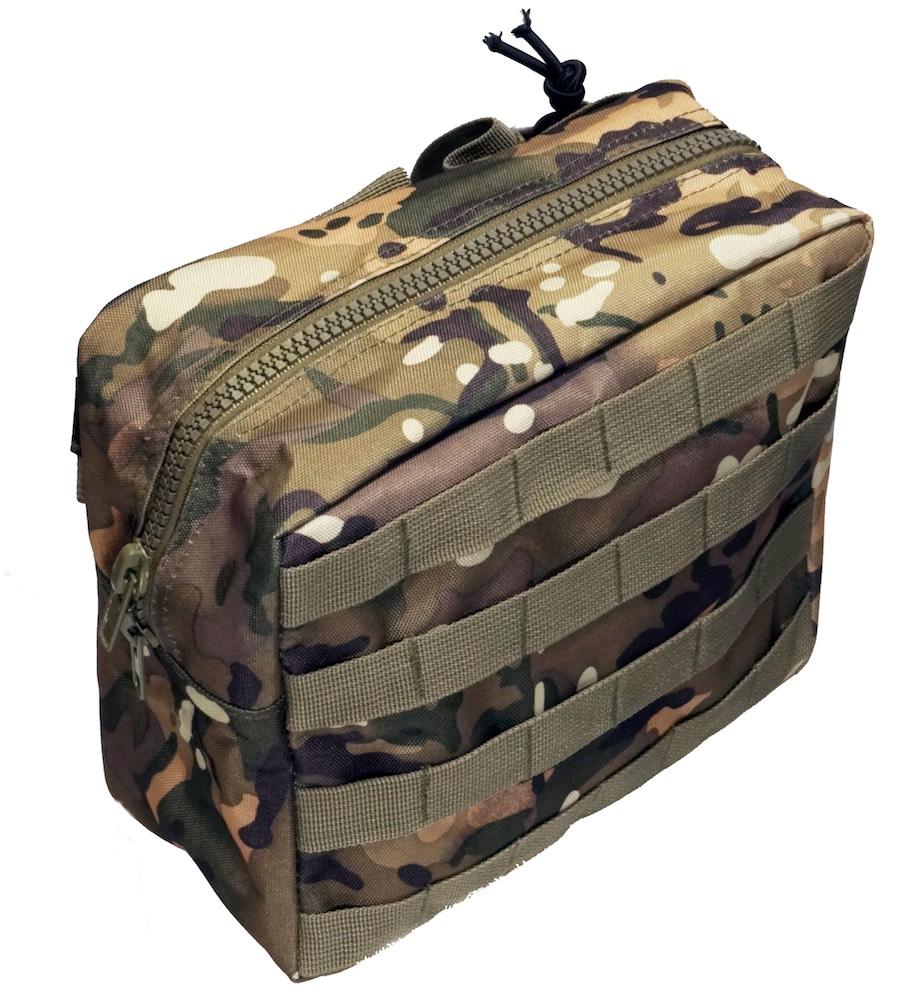 MIL-FORCE ミルフォース ドロップレッグ タクティカル バッグ(カモフラージュ) DM-DLB-CAM