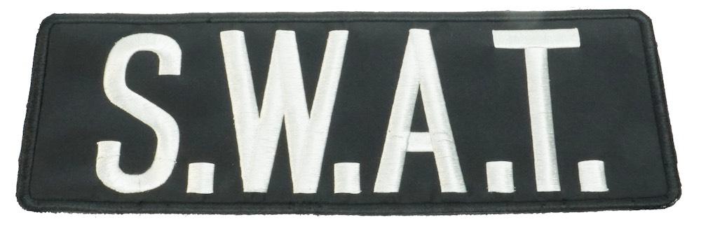 MIL-FORCE ミルフォース SWAT ブラックパッチ MTL-B-SWAT