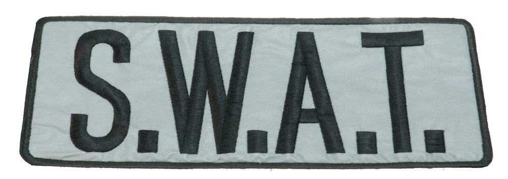 MIL-FORCE ミルフォース SWAT シルバーパッチ MTL-S-SWAT