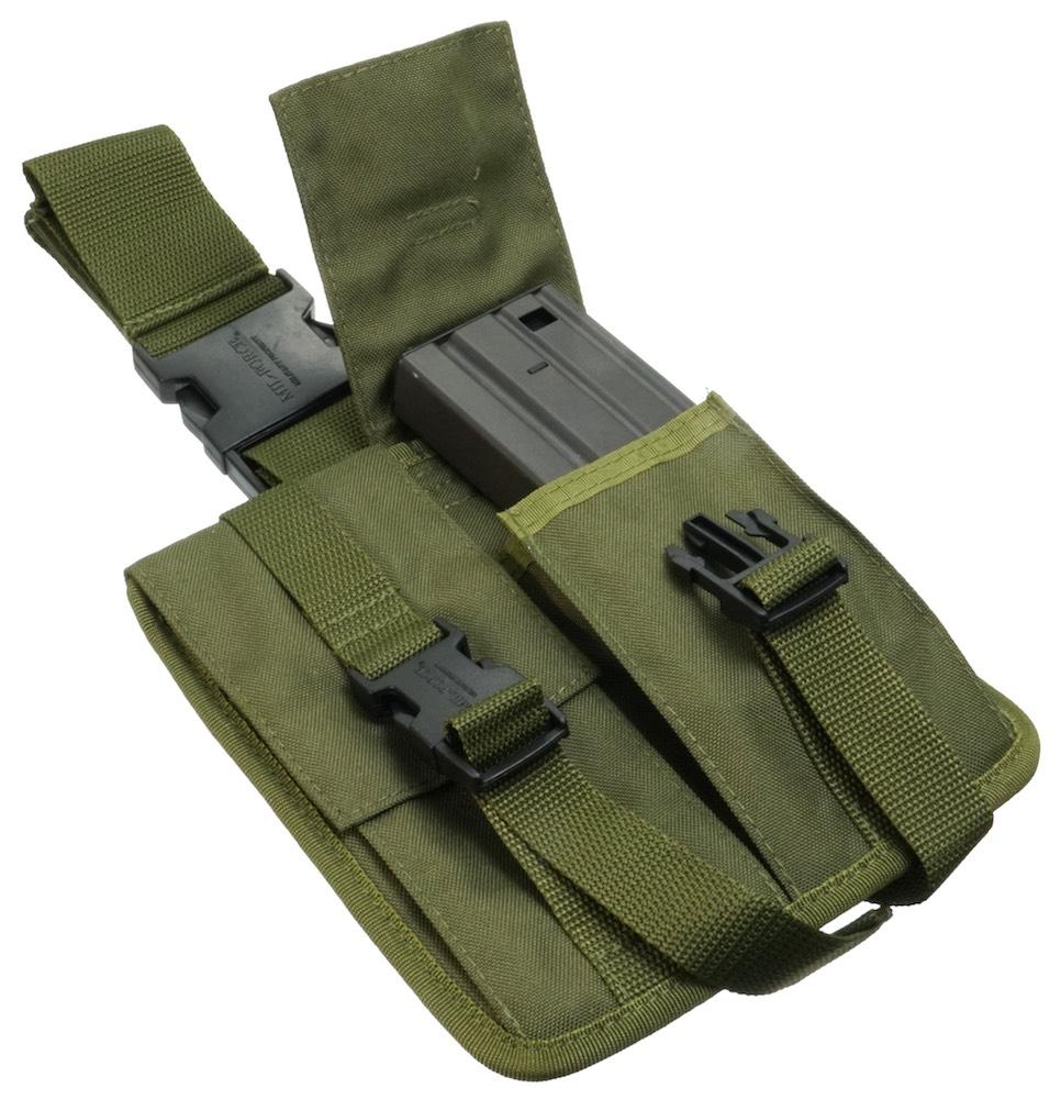 MIL-FORCE ミルフォース レッグマガジンポーチ M16(オリーブ) SBL-16-OD